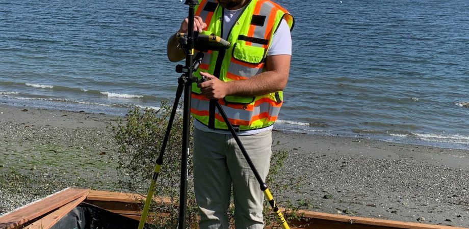 Derek Columna on a Perfect Day for Surveying